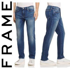 Frame Denim L'Homme Straight Leg Pipestone Jeans